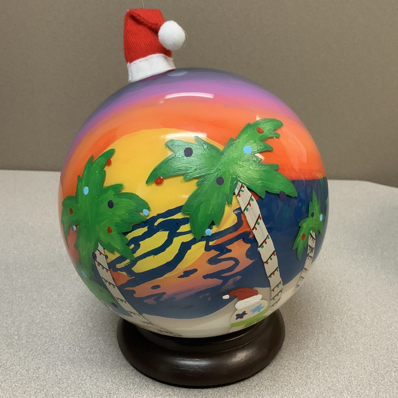 17e01c3f With so much natural beauty, students chose the theme of nature for our  ornaments. The students used exterior house paint, polymer clay, and found  objects ...