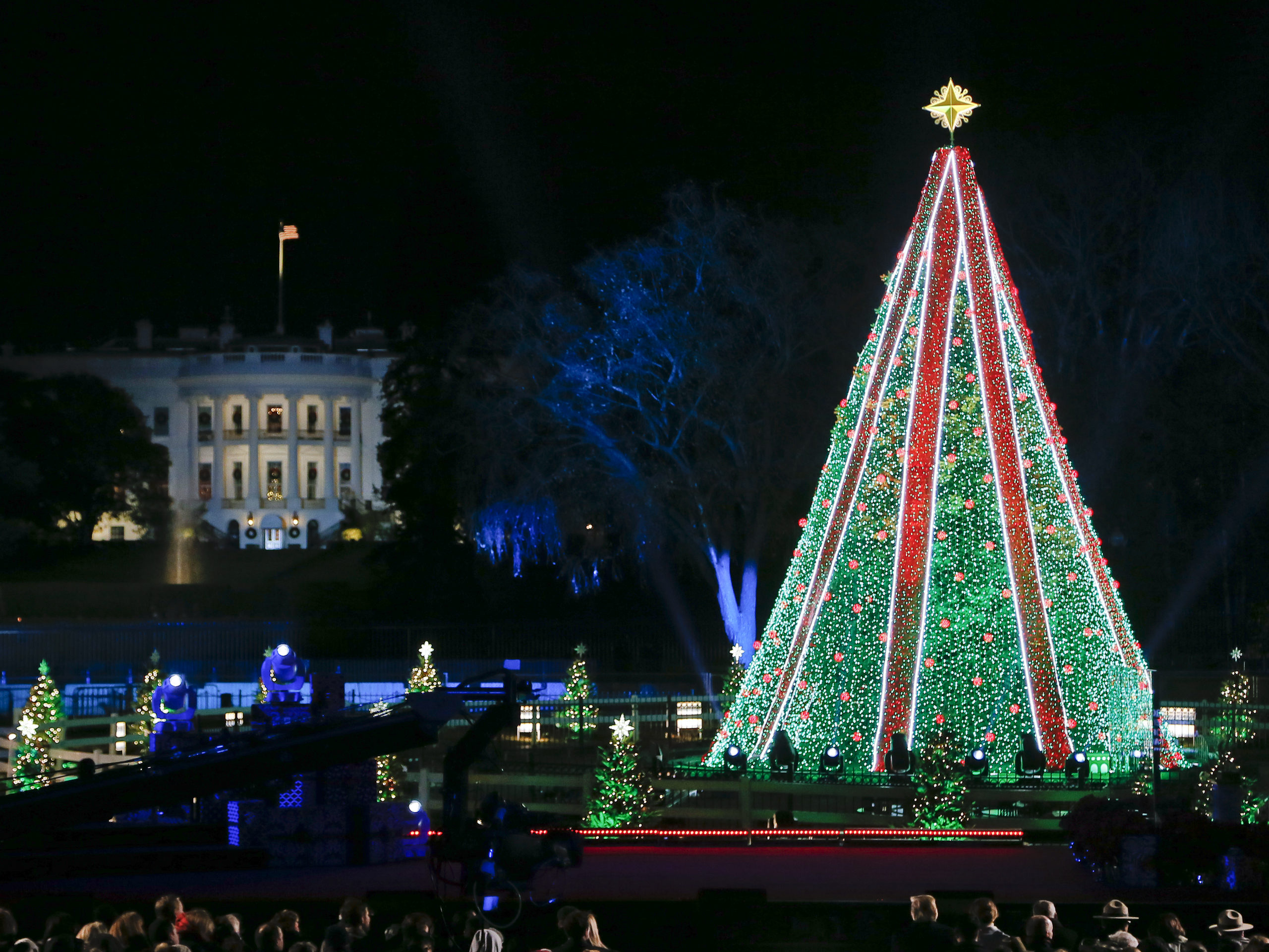 National Christmas Tree Lighting.National Christmas Tree Lighting